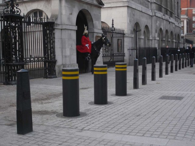 Allens High Security Fencing Road Blockers Bollards And